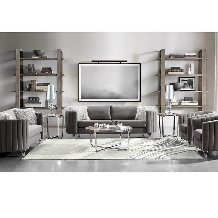 modern design north europe style home furniture living room fabric sofa set