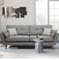 custom modern style designs luxury living room furniture fabric sectional sofa