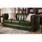 European style new fashion furniture royal wooden leather couches living room furniture 4 3 seat sofa set