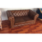 custom modern outdoor hotel lobby restaurant office cowhide leather sofa cum bed set