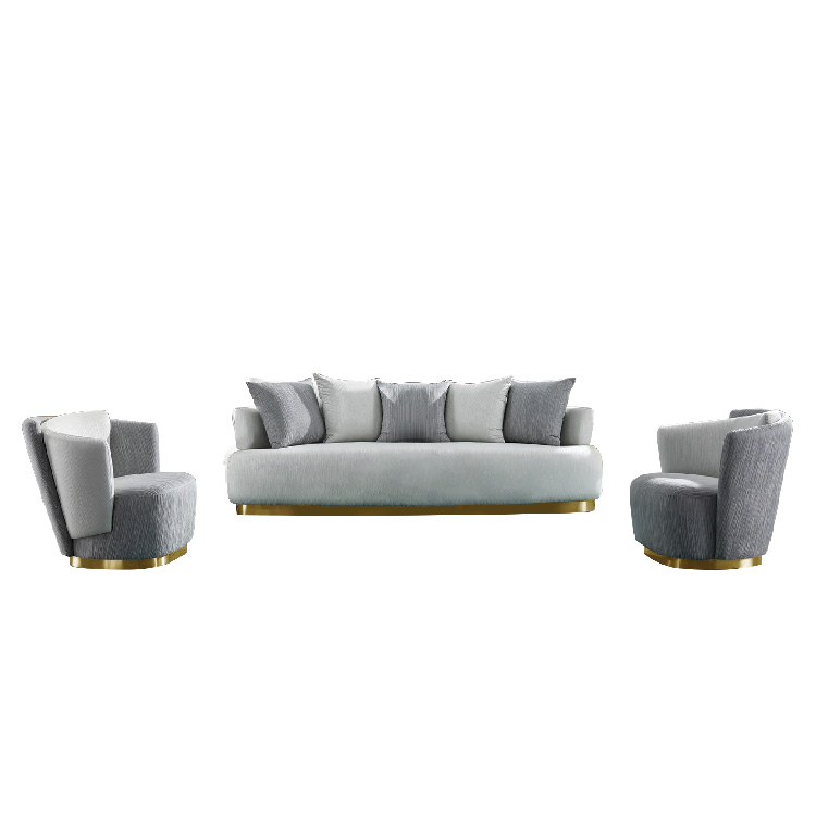 custom designs luxury gray 3 seater single office reception waiting room sofa seat for livingroom