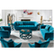 design modern blue drawing couch living room fancy two three seater sofa set
