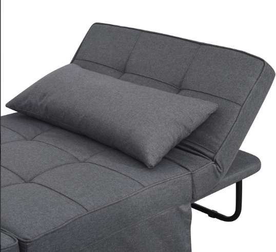 wholesale velvet space saving folding bed adjustable multifunction recliner sofa chair system