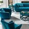 custom home living room funiture wooden furniture 3 seater multifunctional soft fabric sofa