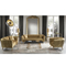 wholesale fabric luxury couch livingroom gold office reception sofa